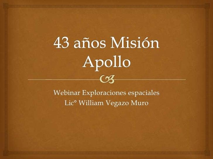 43 años misión apollo