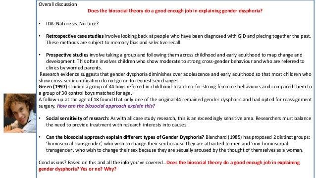 transgender case study essay