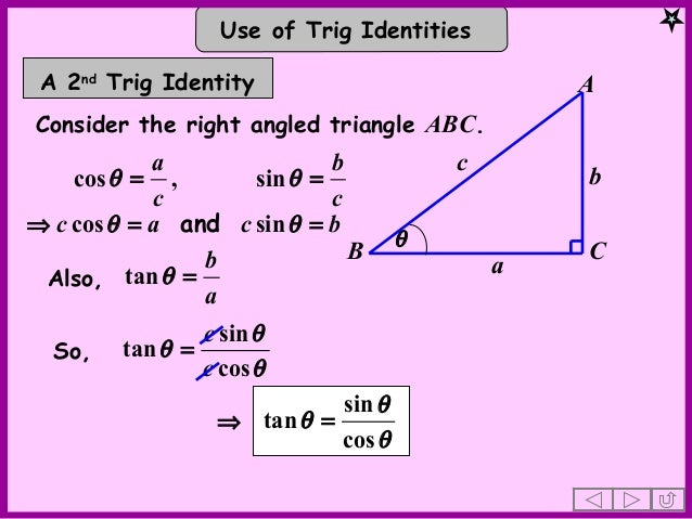 how to solve quadratic trig equations