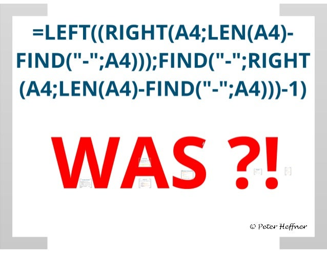 SharePoint Lektion #43: Stringberechnungen (LEFT, RIGHT, FIND)