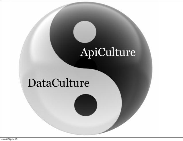 DataCulture ApiCulture mardi 25 juin 13