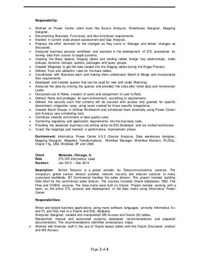 Resume Sample Java Resume Samples Sample Java Resume For Years Doc Etl  Developer Resume Resume Format