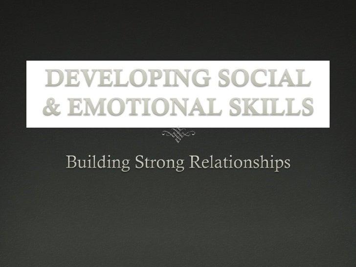 442 Building Relationships