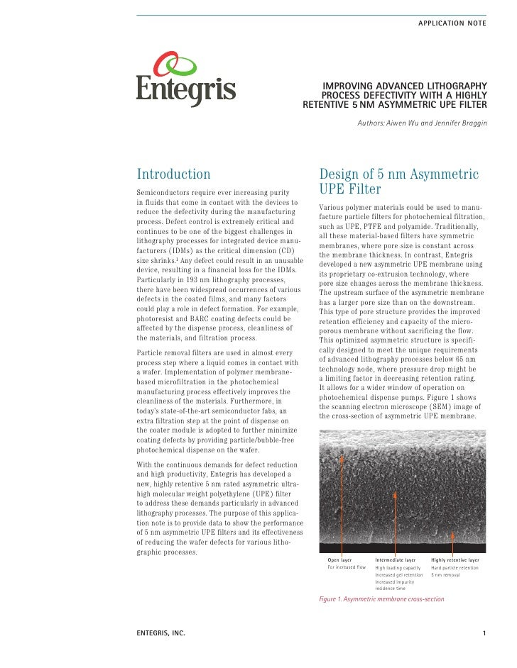 AppLIcAtIon note                                                             ImprovIng AdvAnced LIthogrAphy               ...