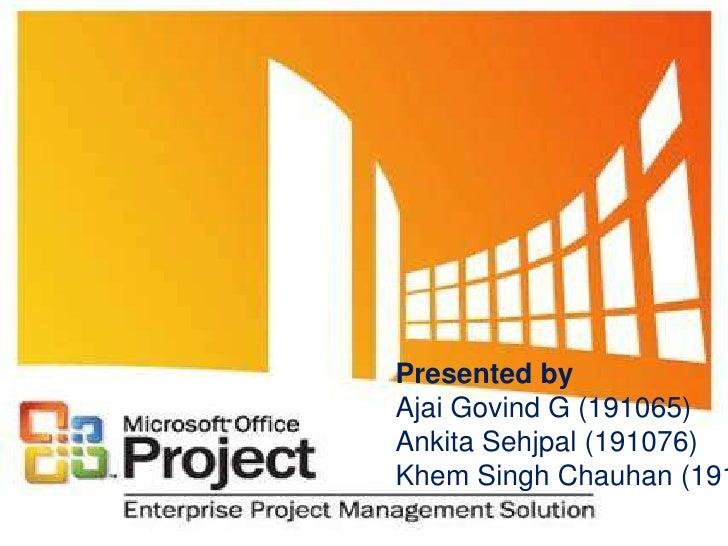 Presented by<br />AjaiGovind G (191065)<br />AnkitaSehjpal (191076)<br />Khem Singh Chauhan (191090)<br />