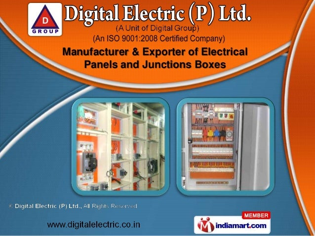 Manufacturer & Exporter of Electrical   Panels and Junctions Boxes