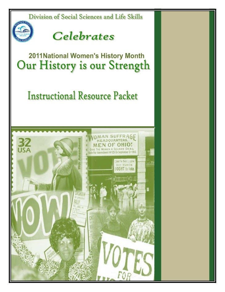 2011 Women's History Theme:   Miami-Dade County Public Schools        Curriculum and InstructionDivision of Social Science...