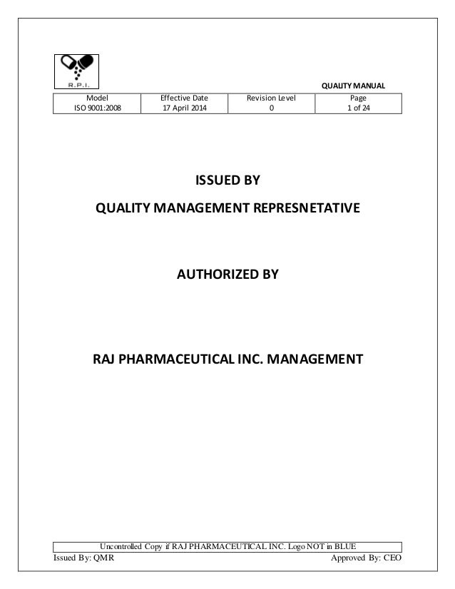 iso 17025 quality manual pdf