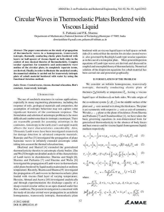 Circular Waves in Thermoelastic Plates Bordered with Viscous Liquid