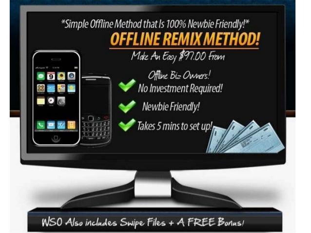 Offline Remix Method - Make an Easy $97 from offline Biz Owners