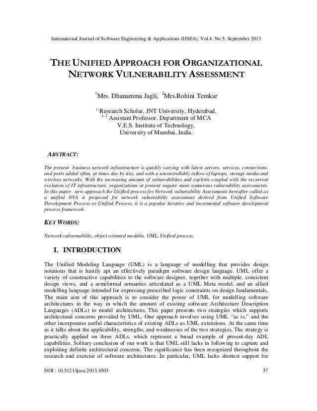International Journal of Software Engineering & Applications (IJSEA), Vol.4, No.5, September 2013 DOI : 10.5121/ijsea.2013...