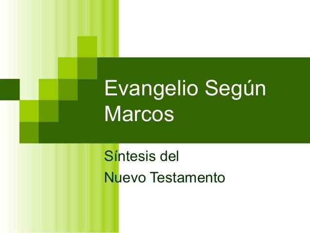 4518761 evangelio-de-san-marcos-analisis