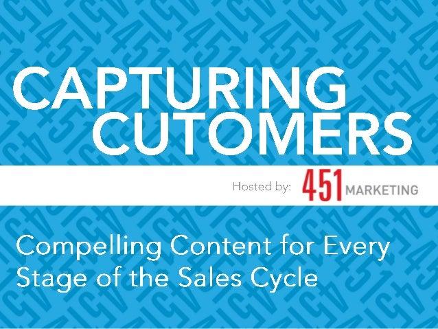 451 Marketing Capturing Customers - 2014 Webinar