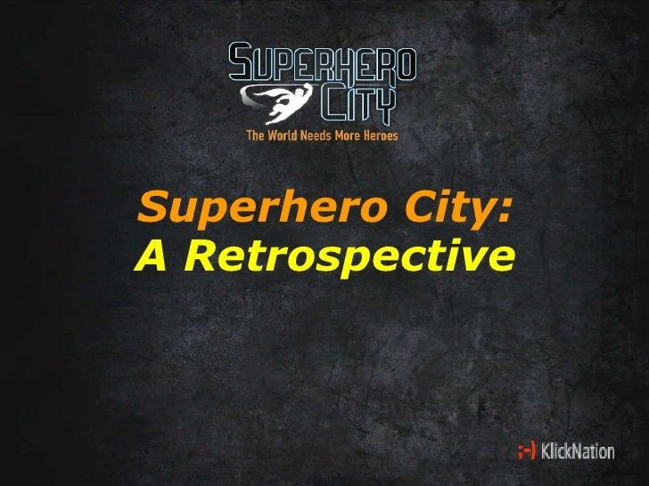Superhero City Slide Show