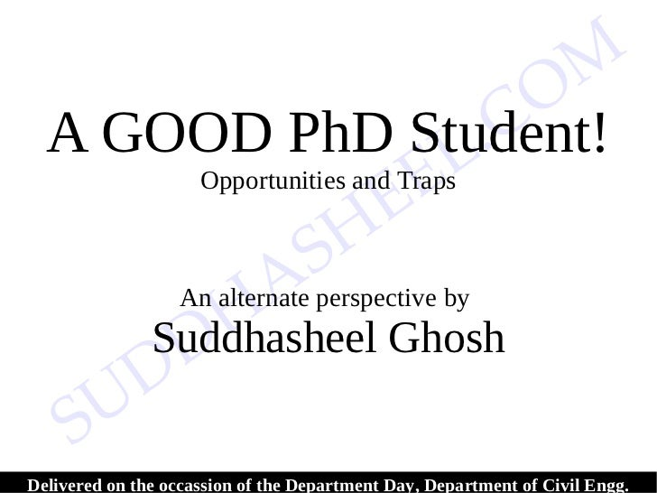 45324291 a-good-ph d-student