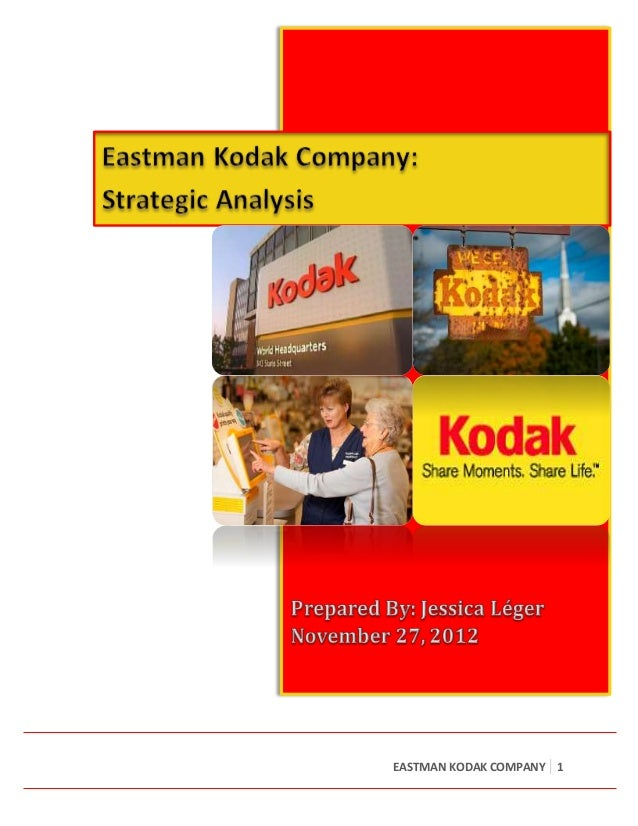 case study on eastman kodak Eastman kodak company: funtime film 1 diagnose the reasons for kodak's market share loss and make your assessment of the likely development of the market if.