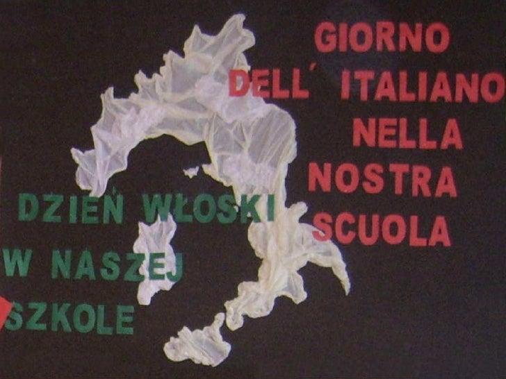 Il giorno dell'italiano