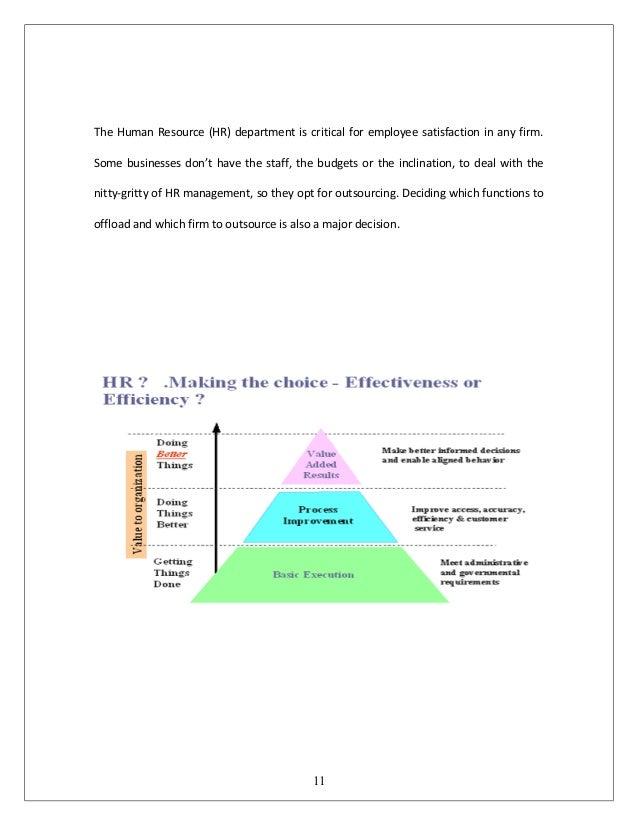 Dissertation outsourcing housing department