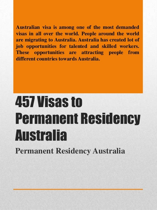 Australian visa is among one of the most demanded visas in all over the world. People around the world are migrating to Au...