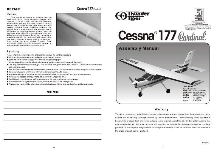 Manuale Cessna 177