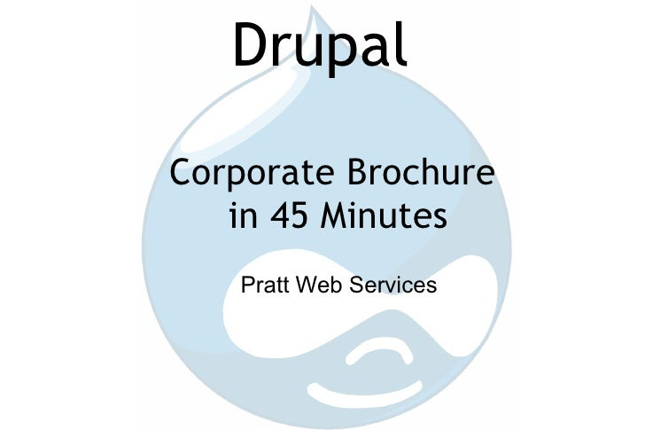 45 Minute Drupal Site