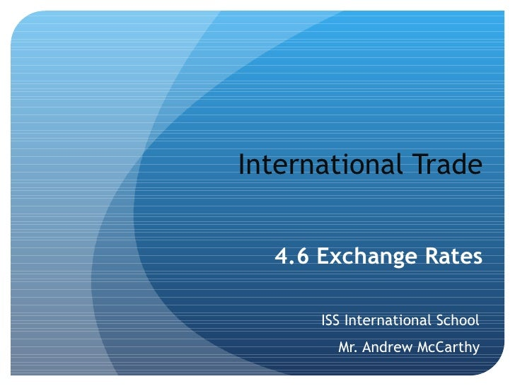international trade and trade financing instruments