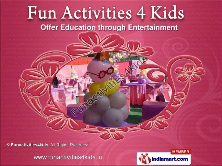 Funactivities4kids Delhi India