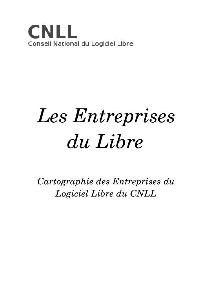 Cartographie des Entreprises du Logiciel Libre