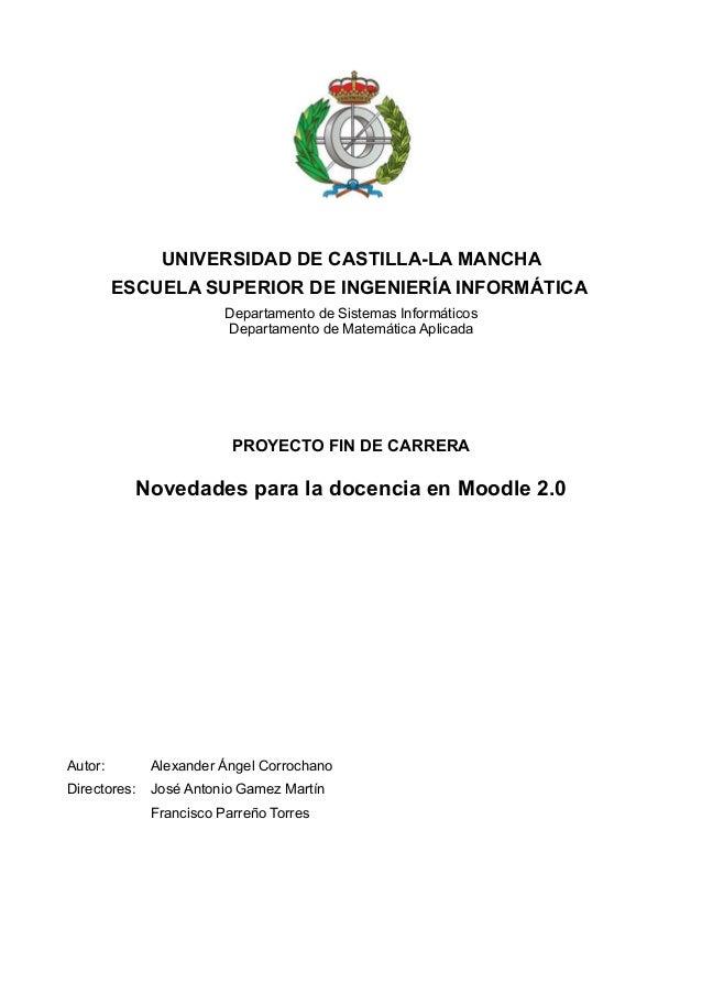 UNIVERSIDAD DE CASTILLA-LA MANCHA         ESCUELA SUPERIOR DE INGENIERÍA INFORMÁTICA                         Departamento ...