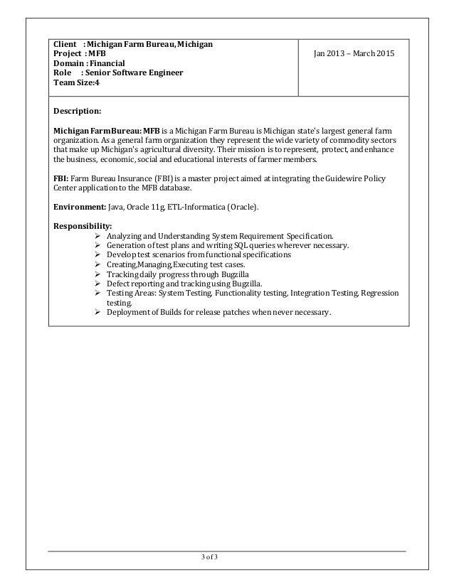 ETL Testing Resume venkatesh