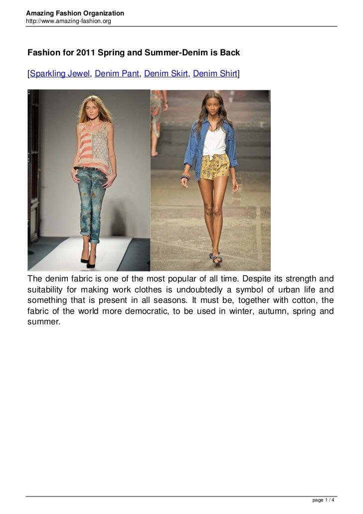 465 fashion for-2011-spring-and-summerdenim-is-back-en