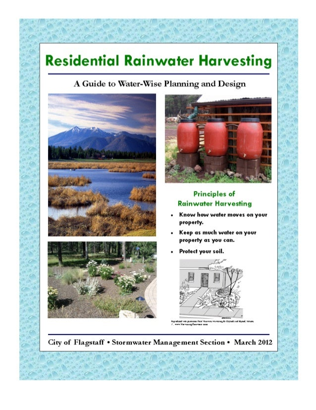 Residential Rainwater Harvesting - Flagstaff, Arizona