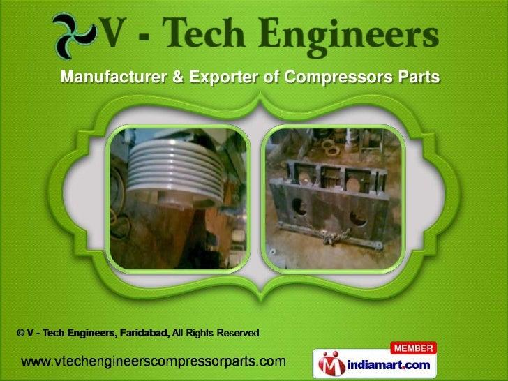 Manufacturer & Exporter of Compressors Parts