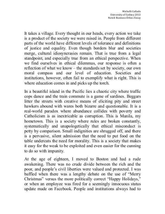 paper topics on ethics
