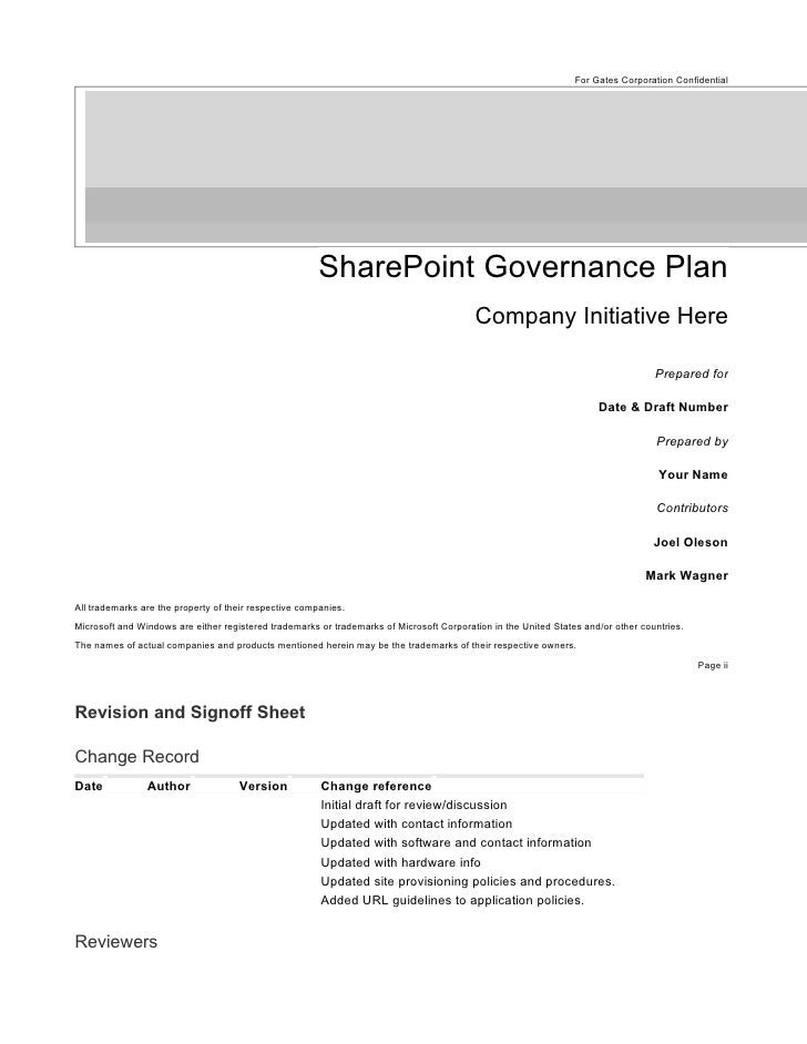 SharePoint_Governance_Plan