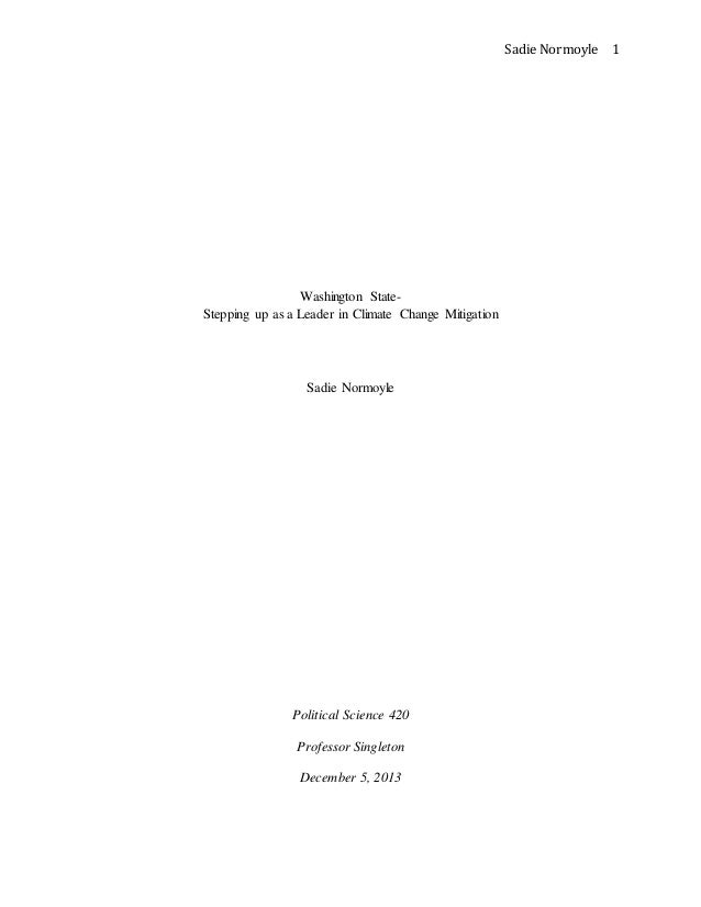 Cap and trade Essay question?