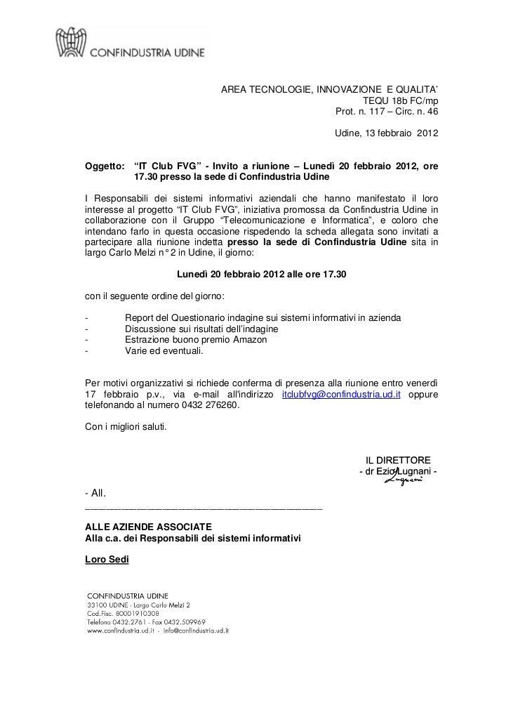 AREA TECNOLOGIE, INNOVAZIONE E QUALITA'                                                             TEQU 18b FC/mp        ...