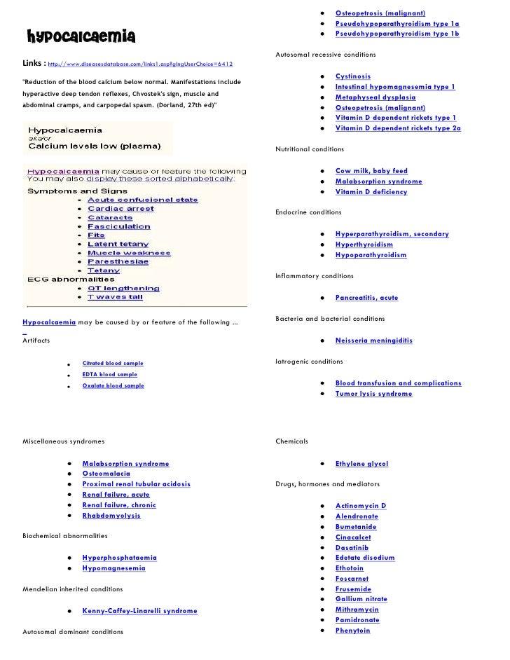 Osteopetrosis (malignant)                                                                                             Pseu...