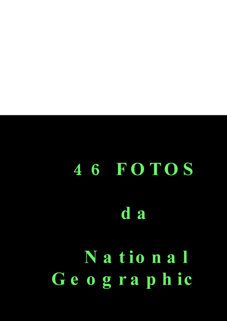 46 Fotosda National Geographic