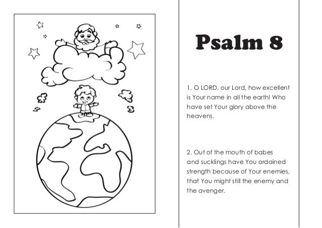 Coloring Pages Psalm 8 Coloring Pages A Psalm Of Thanksgiving