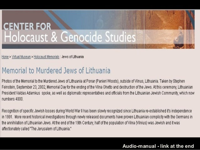 473 -Lituania-Holocauste