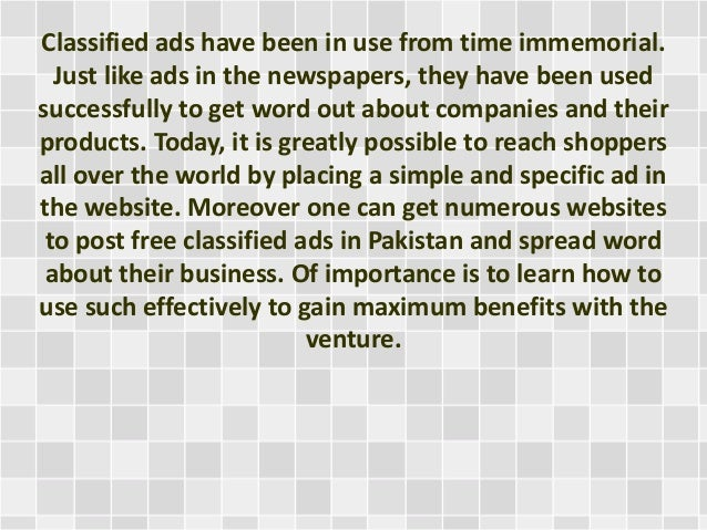 Free Classified Ads  Free Ads  Buy  Sell  Business