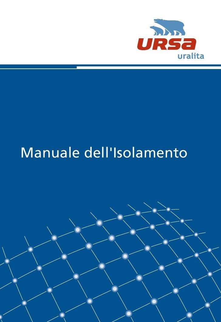 4737 manuale isolamento_ursa_2010
