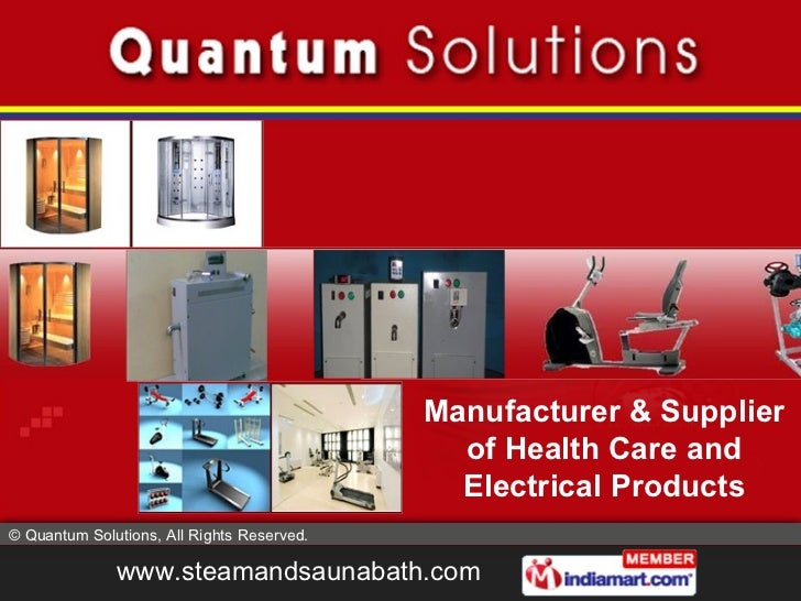 Health Care Product by Quantum Solutions New Delhi