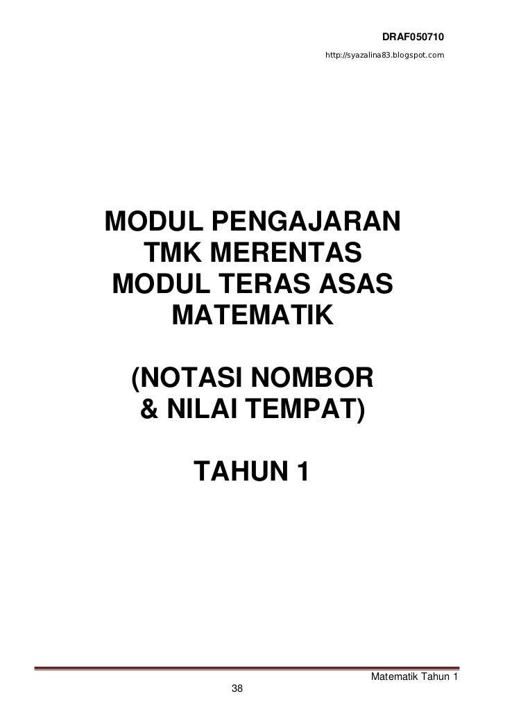 47459251 rph-matematik-tmk-tahun-1-kssr