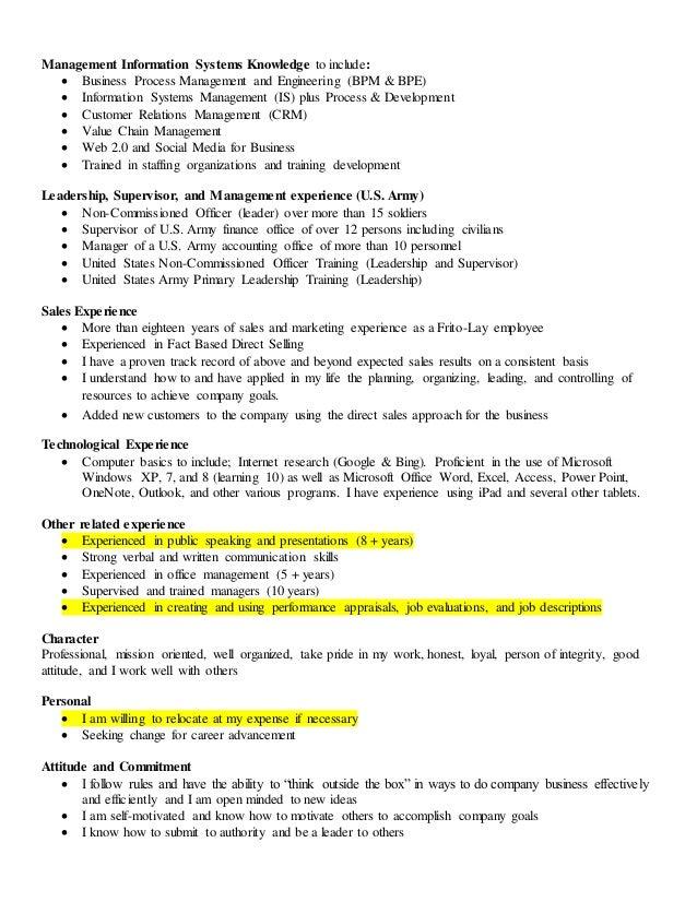 Management Information Systems Resume. professional data analytics ...