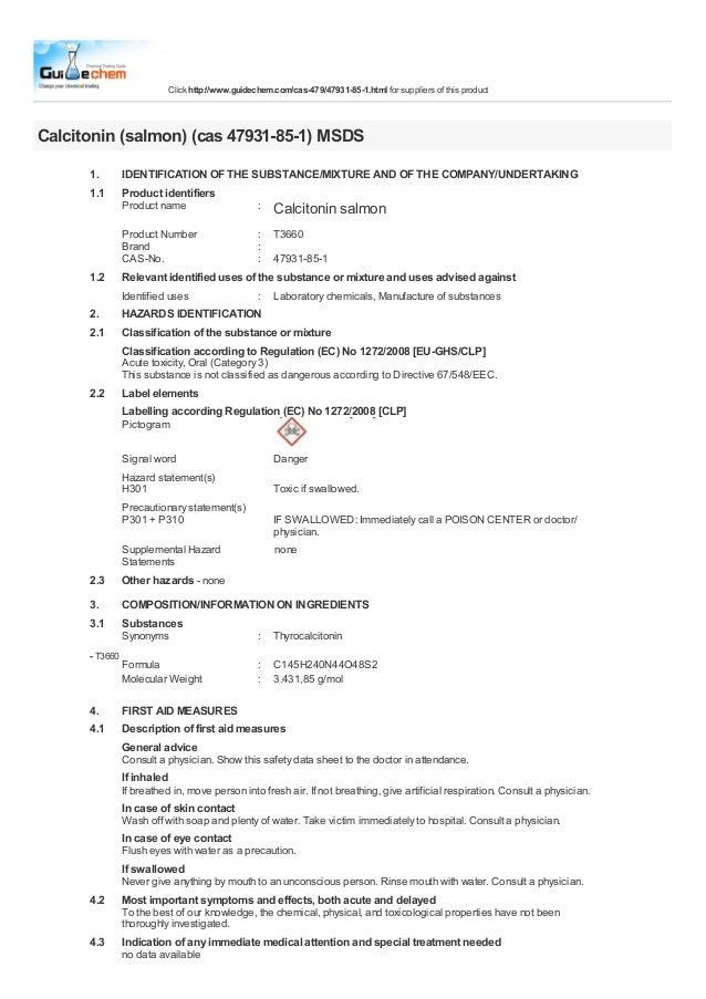 Calcitonin salmon CAS:47931 85-1