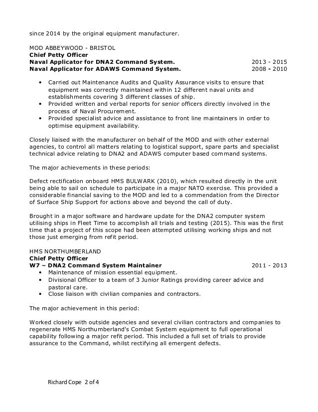 richards cv word 2003 format updated