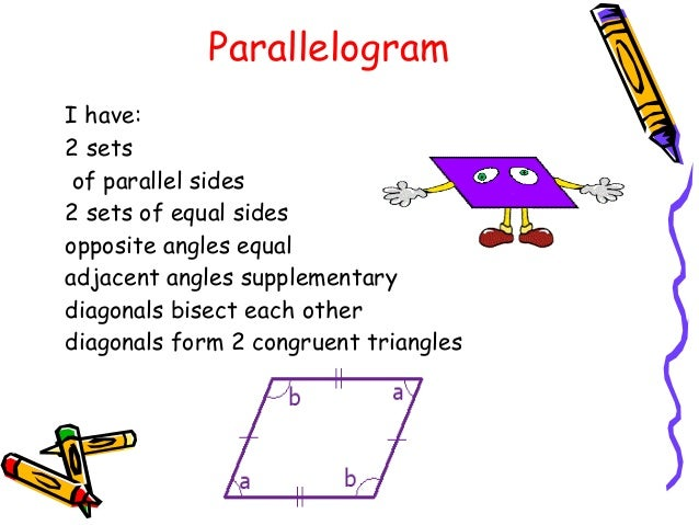 how to draw a parallelogram with no right angles