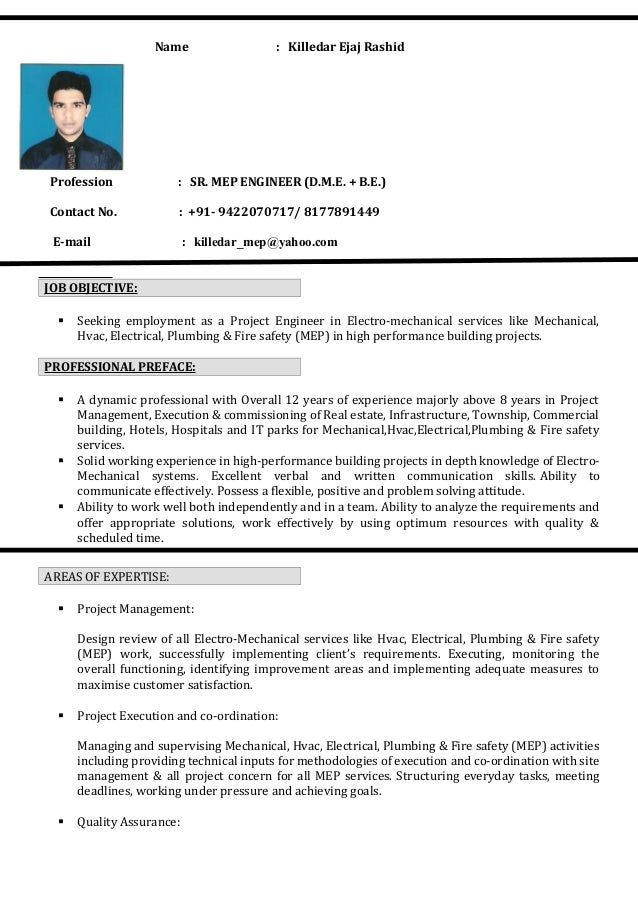 Linkedin resume samples